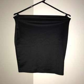 Misguided Black Skirt