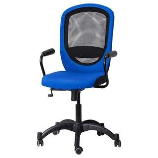Ikea Flintan Swivel Chair in Blue (office Chair)