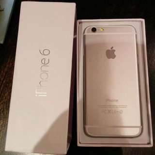 Like new gold iphone 6