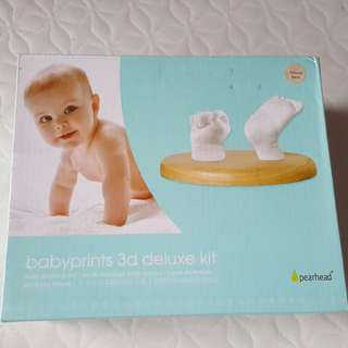 (Reduced)PEARHEAD Babyprints 3D Deluxe Kit