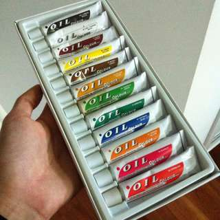 Reno Assorted Oil Paints