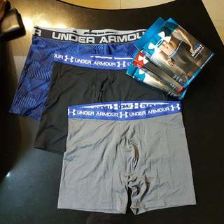 Under Armour Boxer Shorts XL  Brand New