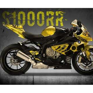 BMW S1000RR  2010-14 1 Fairing 100% Precision Guarantee MOST class 2b 2a 2 sportsbike Scooter fairings are available