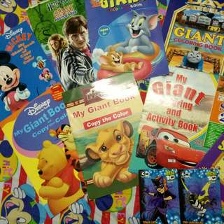 Educational Colouring And Story Books