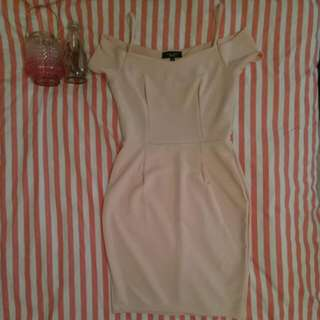 Nude New Look Petite Dress