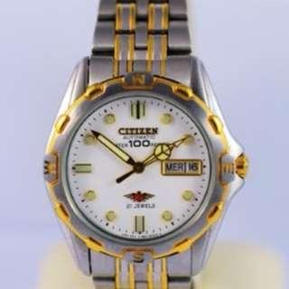 Citizen Automatic 21 Jewel Eagle Watch