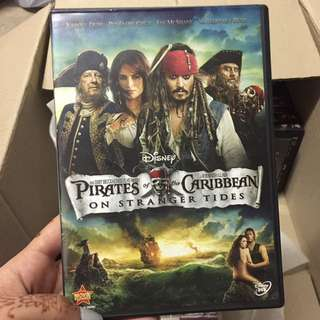 Pirates Of The Carribean, On Stranger Tides DVD