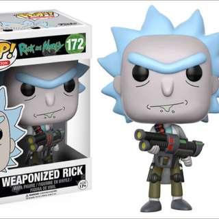 Original Funko Pop Rick & Morty Weaponised Rick