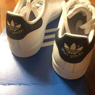 Stansmith 經典 白鞋 黑邊 韓國
