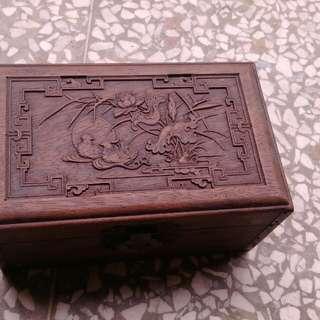 #手滑買太多 木質珠寶盒