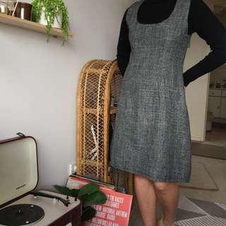 Vintage Grey Dress
