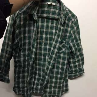 UNIQLO checkered Shirt