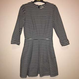GAP Stripe Dress XS