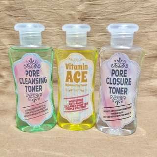 Facial Toner - Vitamin A C E, Pore Cleanser & Pore Closure Toner
