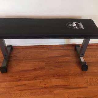 Weights Flat Bench