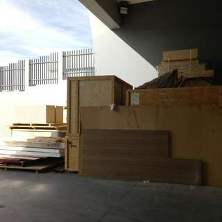Wooden Pallets,  Large Wooden Containers, Loose MDF