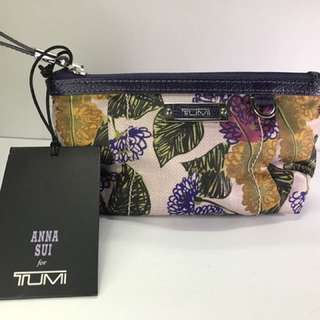 Anna Sui For Tumi Floral Pouch