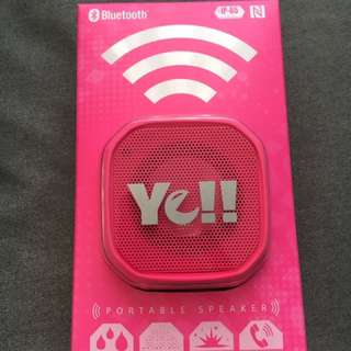 Ye! Portable Bluetooth Speaker