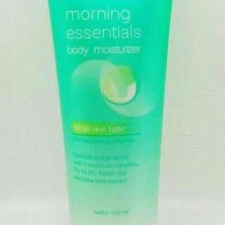 Wardah Morning Essentials Body Mousturizer
