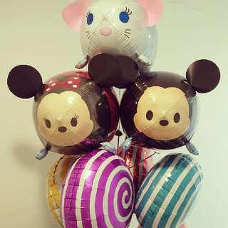 Tsum Tsum Original Helium Balloons And Bouquet