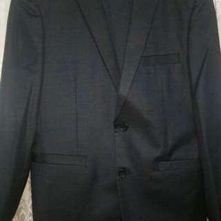 Giorgio Armani Navy Blue Coat (Class A)