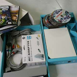 Modded Nintendo Wii Console (No Controllers)