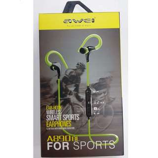 AWEI A890BL 藍牙運動耳機 Wireless Bluetooth earphone