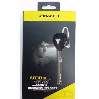 AWEI A830BL智能立體聲藍牙耳機Wireless Bluetooth earphone