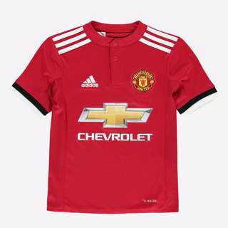 Man United 2017/2018 Home Jersey