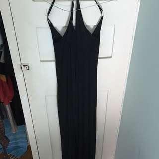 Agent 99 Black Maxi Dress