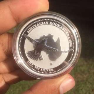 1oz Silver Coin 999