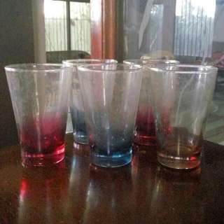 Colored Glasses (Set Of 5)