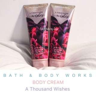 Bath & Body Works Body Cream A Thousand Wishes