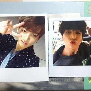 jungkook photocards
