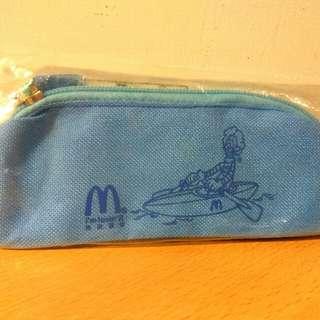 🚚 [Ericaca 愛挖寶] 麥當勞世紀運動生日會 藍色鉛筆袋