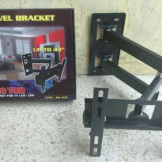 Bracket Braket Breket Briket Swivel Led Tv 26-43inch