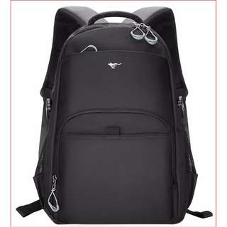 SEPTWOLVES Backpack (Black Colour)