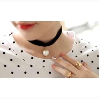 珍珠 頸鍊