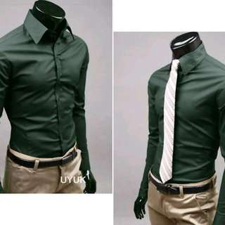 Formal Shirt - Dark Green Colour - Size M