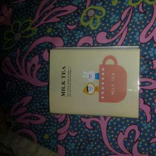 Milktea Notebook Planner