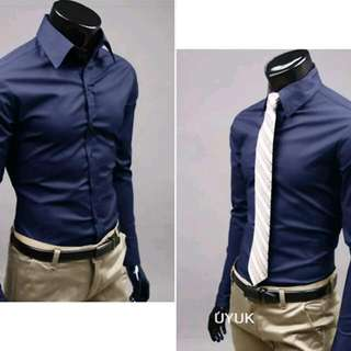 Formal Shirt - Dark Blue Colour - Size M