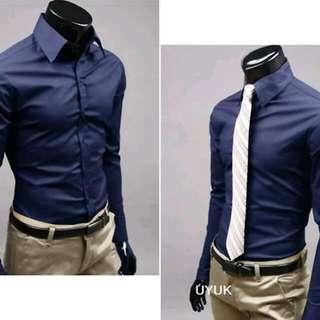 Formal Shirt - Dark Blue Colour - Size M