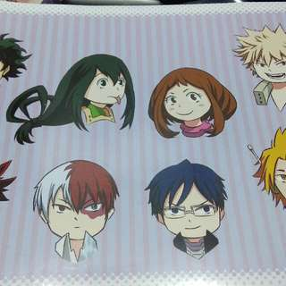 [Animangaki 2017] Boku No Hero Academia Stickers