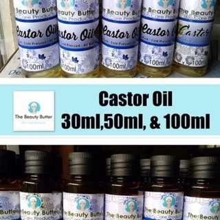 Pure Cold Pressed Castor Oil