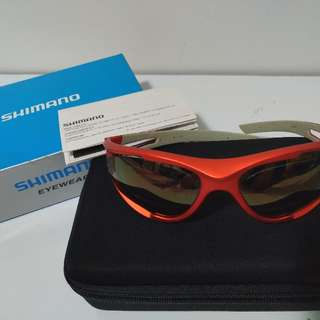 Shimano Eyewear Metallic Orange Brand NEW