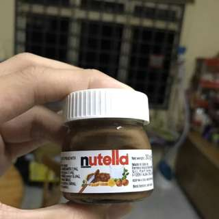 Miniature Nutella