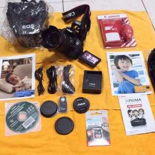 Canon 700D  Touchscreen