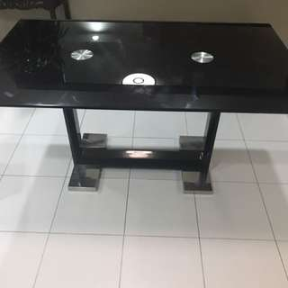 Designer Glass Dinning Table For Sale