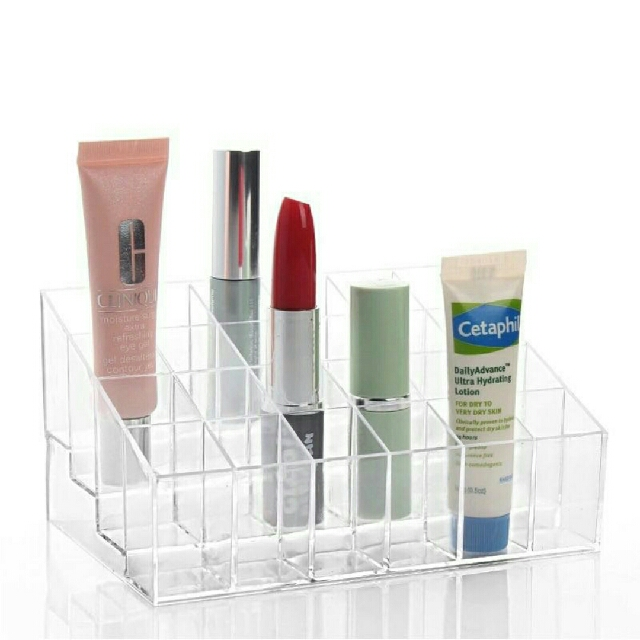 24 Slots Acrylic Lipstick Organizer