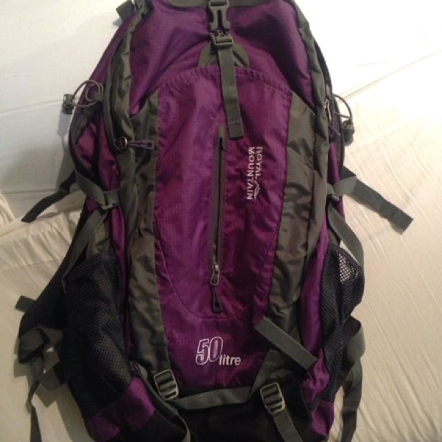 50Litre Back Pack
